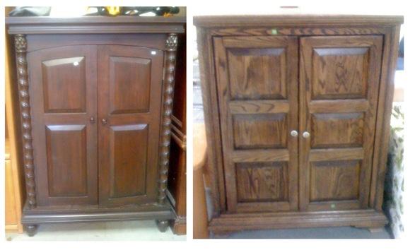 mini cabinets