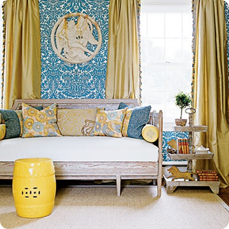 southern accents yellow accents