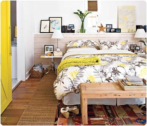 southern living yellow door and throw