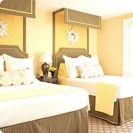 yellow bedroom coastal living