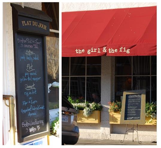 girl and fig menu