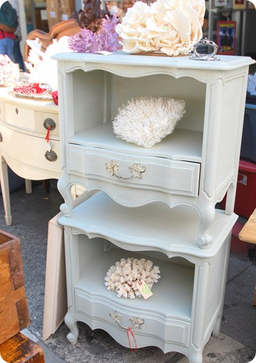 perfect blue gray endtables