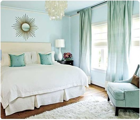 Great Southern Living Blue And Gold Bedroom