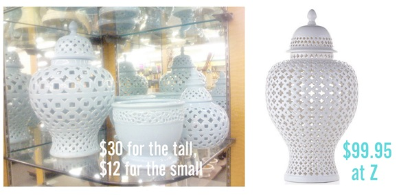 z gallerie comparison