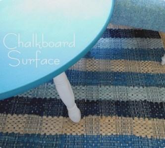 chalkboard surface