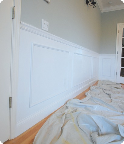 wainscot after side view