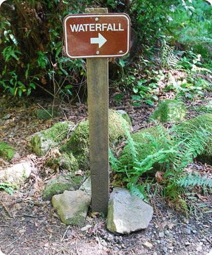 waterfalls sign