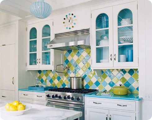 blue and green tile apt therapy