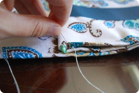 stitch folds