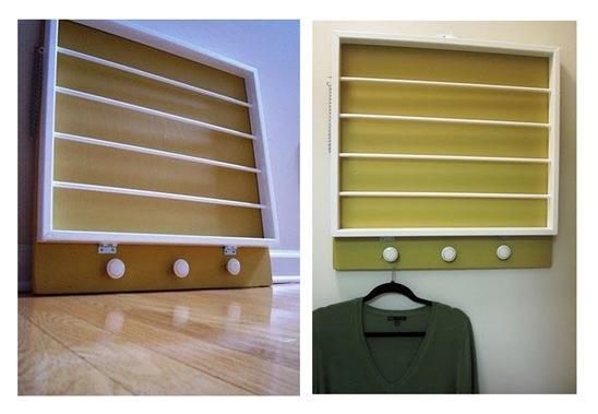 kims yellow drying rack