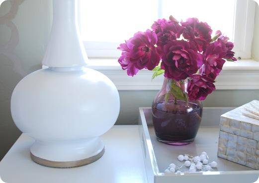 lamp base on dresser
