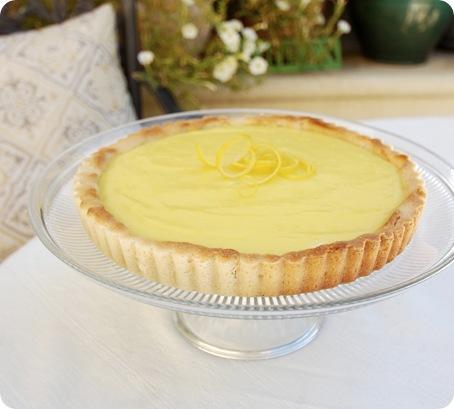 simple lemon tart