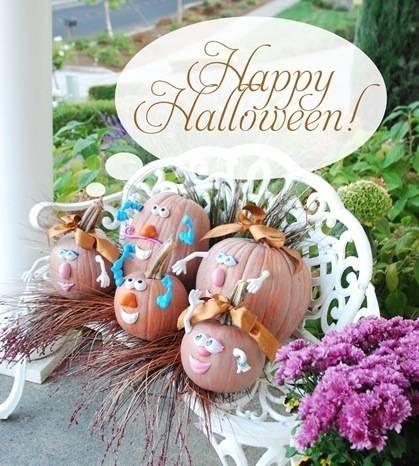 cg happy halloween family