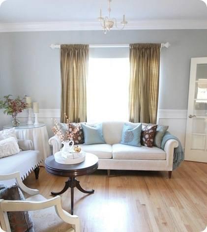 cream sofa in living room