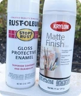 krylon matte finish
