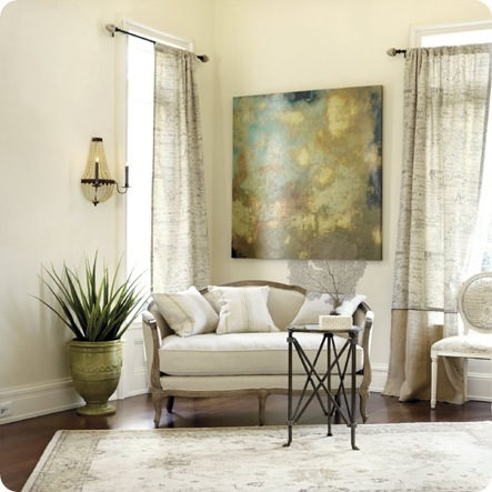 ballard designs abstract and table