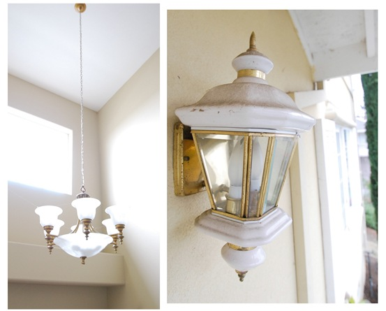 entry chandy and sconce