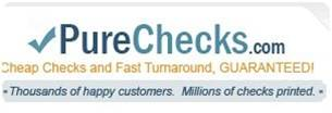 pure checks banner