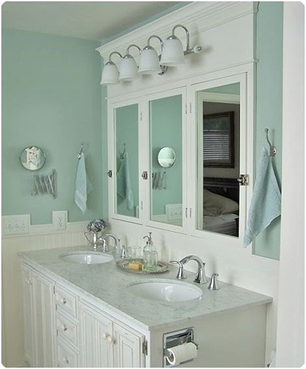 Before And After Bathroom Makeovers On A Budget: BOTB {Best Of The Blogosphere} 4.10.11