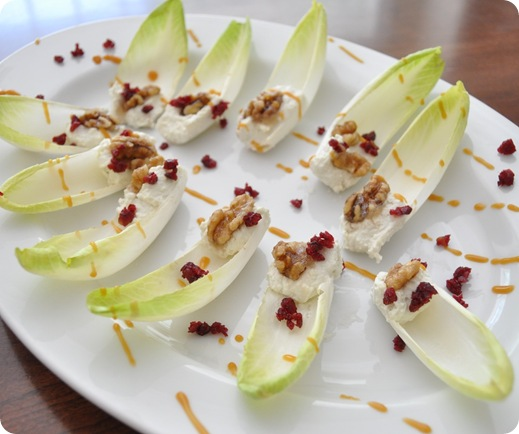 blue cheese endive bites