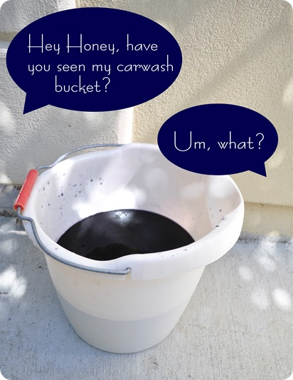 carwash bucket
