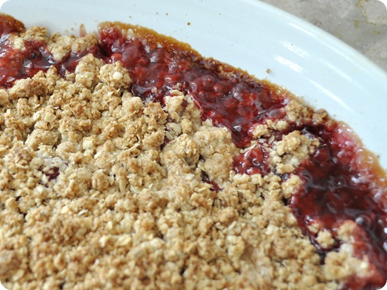bubbly crumble