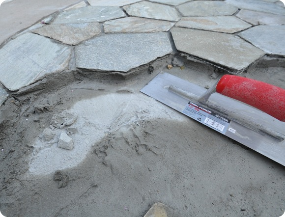stones in mortar