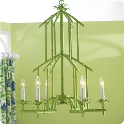 bamboo tower chandy green