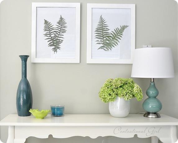 cg fern wall art