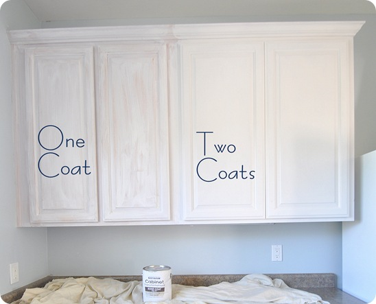 one and two coats