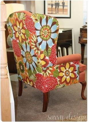 savvy design wingback chair