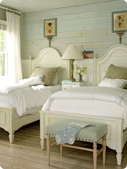twin beds euro sham