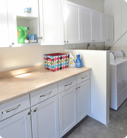 countertop storage wall