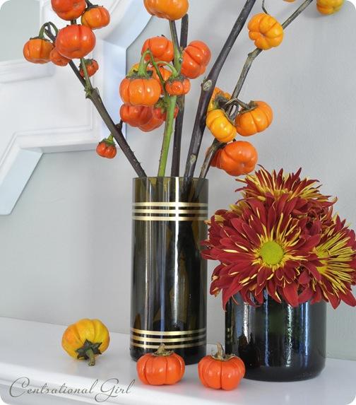 cut glass wine bottle vases cg