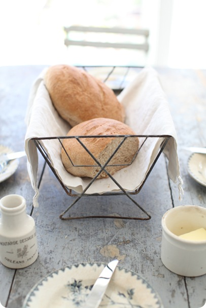 dreamy whites french bread