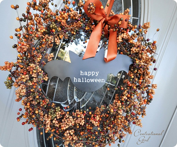 halloween bat wreath cg