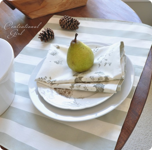 stripe side up placemat cg