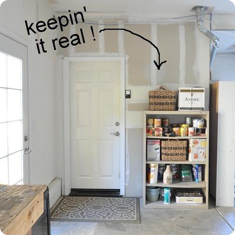 back garage door before