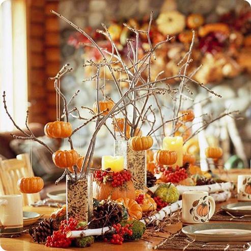 pumpkin tree decor