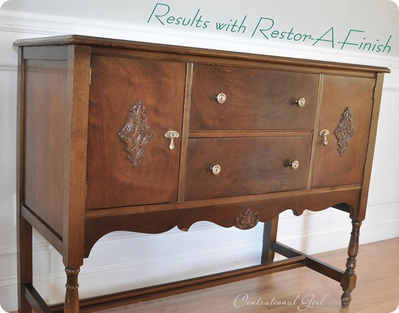restore a finish results