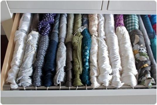 t shirt filing system