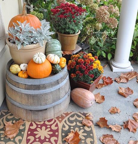 Harvest Porch Centsational Style