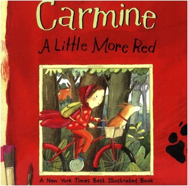 carmine a little more red