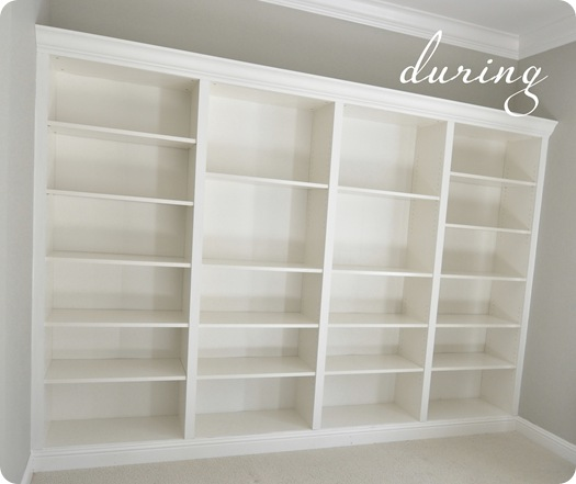 kates bookcases during