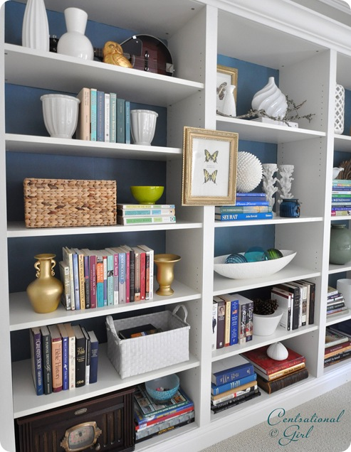 white built in bookcases from left cg