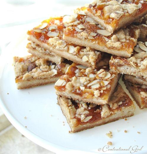 apricot almond shortbread bars cg
