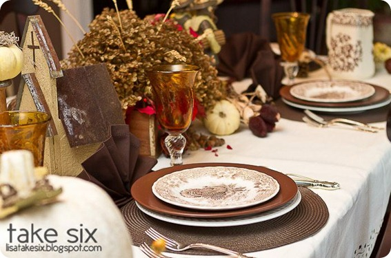 take six traditional thanksgiving