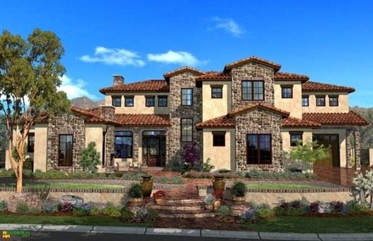 Tuscan Style Home which style home would you choose? | centsational style