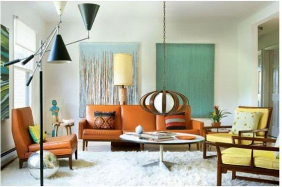 trendey living room