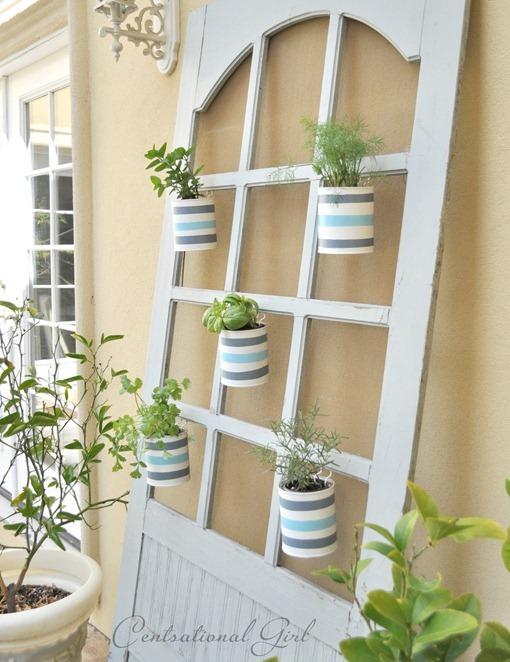 cottage screen door planters cg